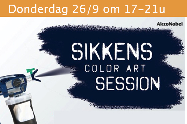 Sikkens colour art session