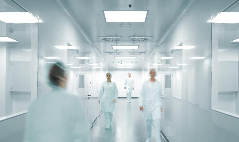 verf voor ziekenhuizen